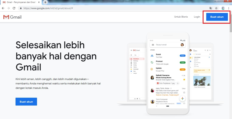 Cara Membuat Gmail Di Laptop Komputer Lengkap Dengan Gambar