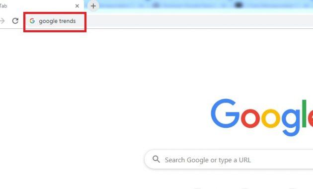 Url Google Trends