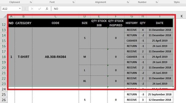Cara Memindahkan Table di Excel ke Ms Word