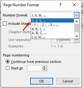 Nomor Halaman yang Berbeda Dalam Satu Dokumen
