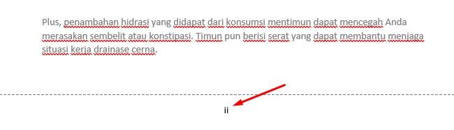 tutorial memberikan nomor halaman di microsoft word simple