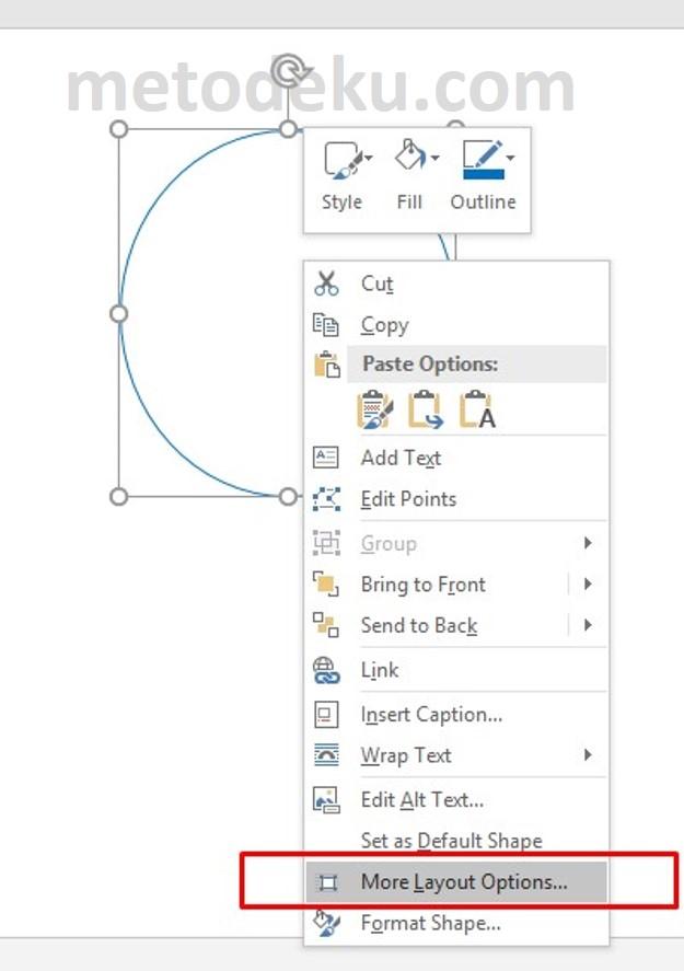 Membuat Gambar Lingkaran Dengan Jari-jari atau Diameter Sesuai Dengan Kebutuhan Anda