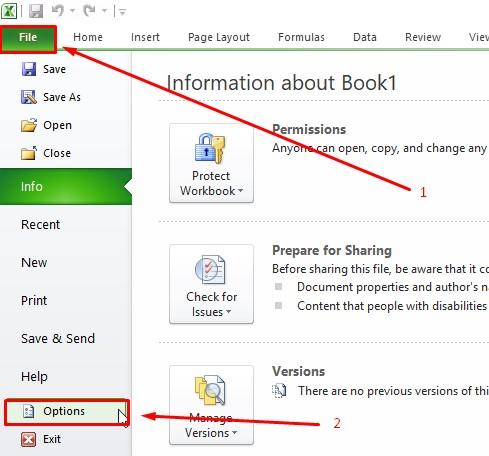 Cara Mengubah Penamaan Tab Ribbon Di Excel