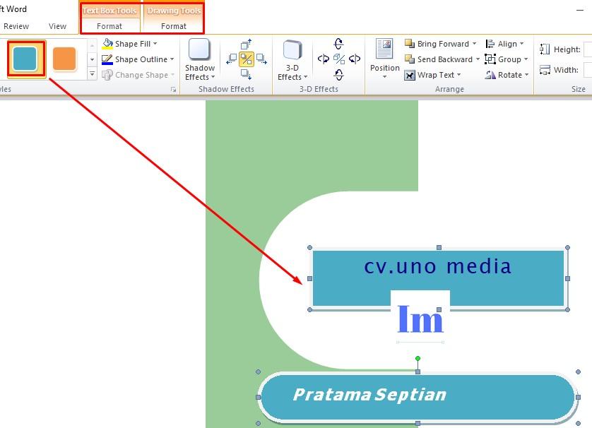 Langkah-langkah Membuat Kartu Nama Dengan Mudah di Ms Word
