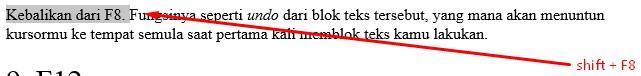 Shortcut Di Microsoft Word Yang Akan Memudahkanmu Dalam Mengerjakan Tugas