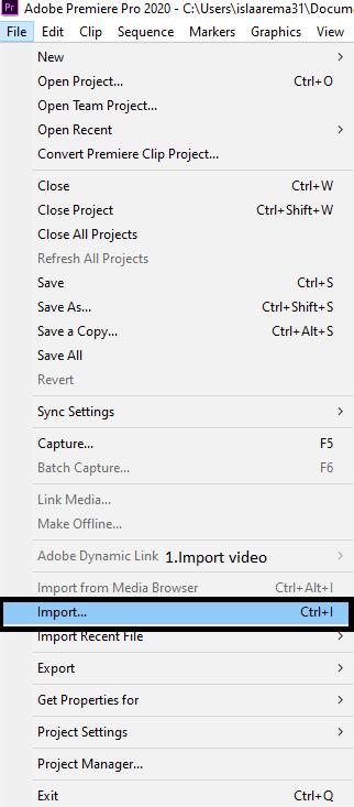 Cara Memasukan Audio di Adobe Premier Pro