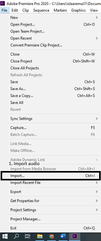 Cara Memberikan Audio di Adobe Premier Pro