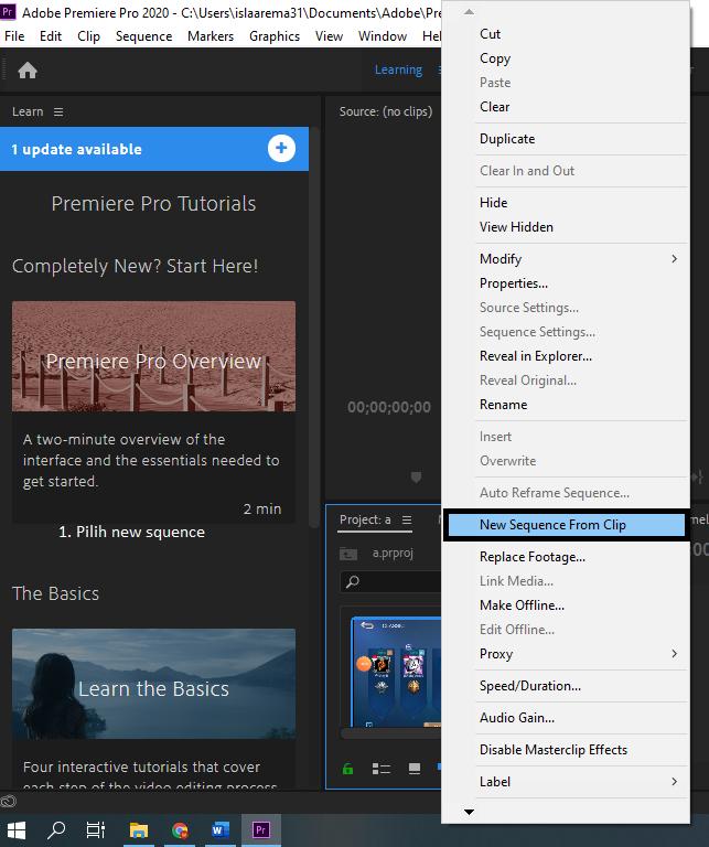 Cara Menambahkan Audio di Adobe Premier Pro