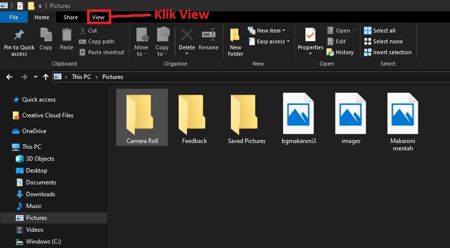 Cara menampilkan thumbnail windows 10