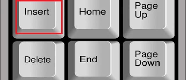 Fungsi Tombol Insert Pada Keyboard