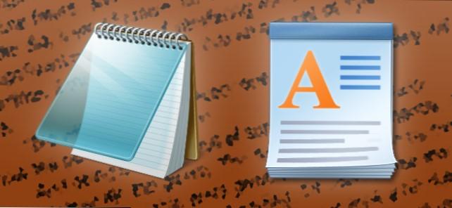 Perbedaan Wordpad dan Notepad