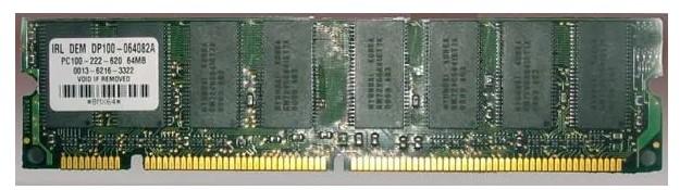 memori tipe SDR SDRAM