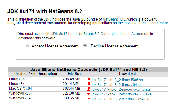 cara download netbeans