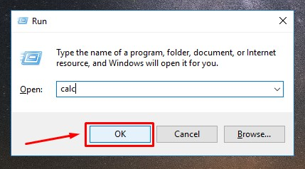 menu run pada laptop