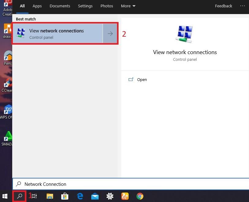 Menonaktifkan WiFi di Windows 10