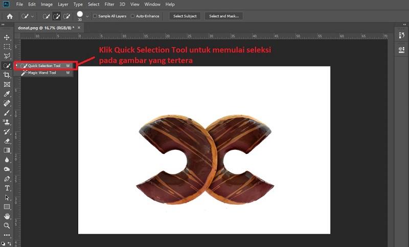 Cara Menghilangkan Background Di Photoshop Mudah