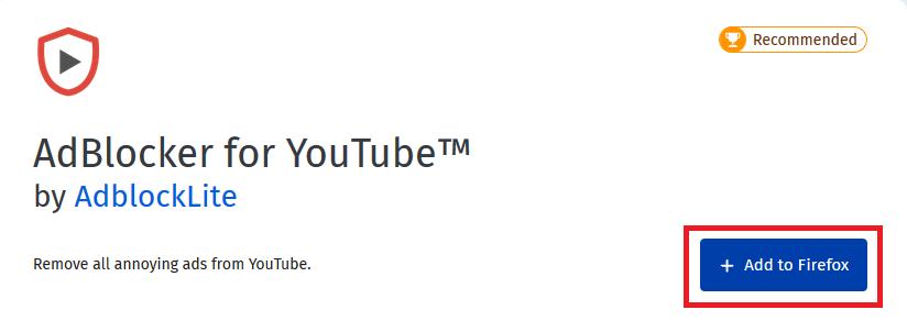 Cara memblokir iklan youtube firefox