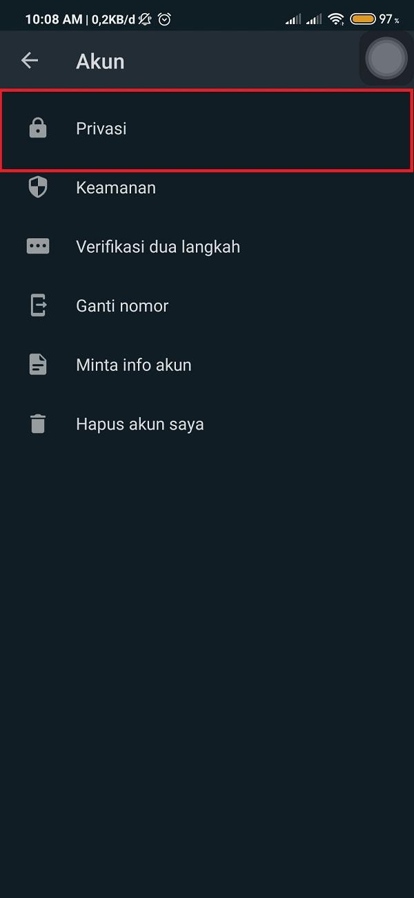 Membuat Whatsapp Tidak Centang Biru