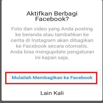 Mulai bagikan ke Facebook