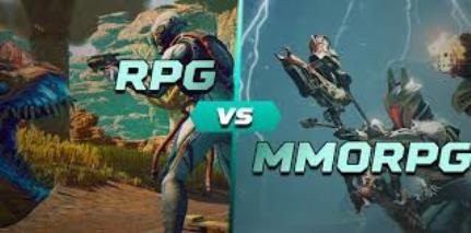 Perbedaan Game MMORPG dan RPG