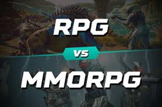 Game MMORPG VS RPG