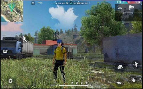gameplay free fire
