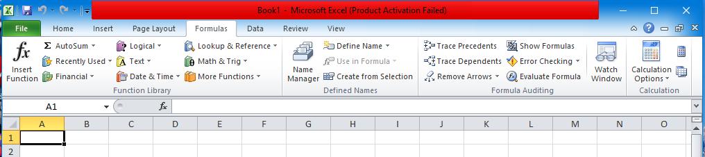 Fungsi Formulas Pada Microsoft Excel ( Yuk Simak ...