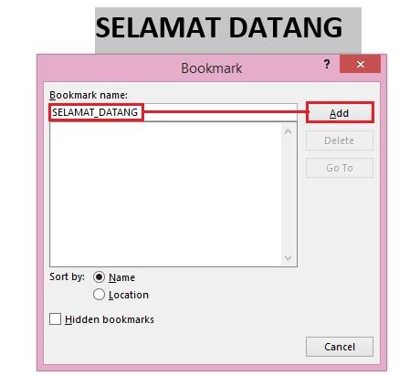 Cara Menghadirkan Fitur Bookmark di Microsoft Word