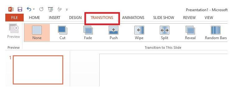 Cara membuat slide bergerak di powerpoint