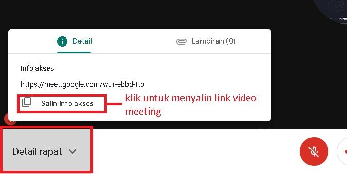 Mengundang Orang Mengikuti Rapat Google Meet