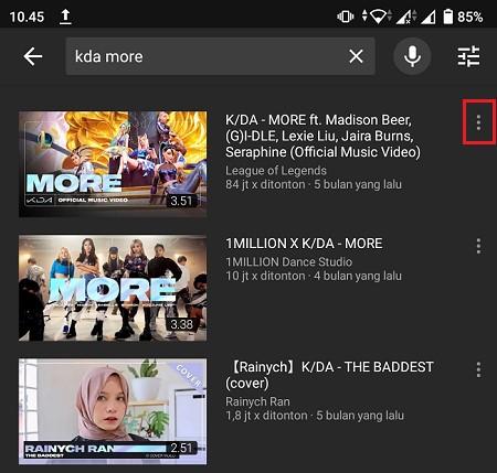 Cara Menyimpan Video Dari Youtube Ke Galeri