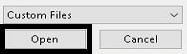 "memilih dokumen yang akan diconvert lalu klik ""Open"""