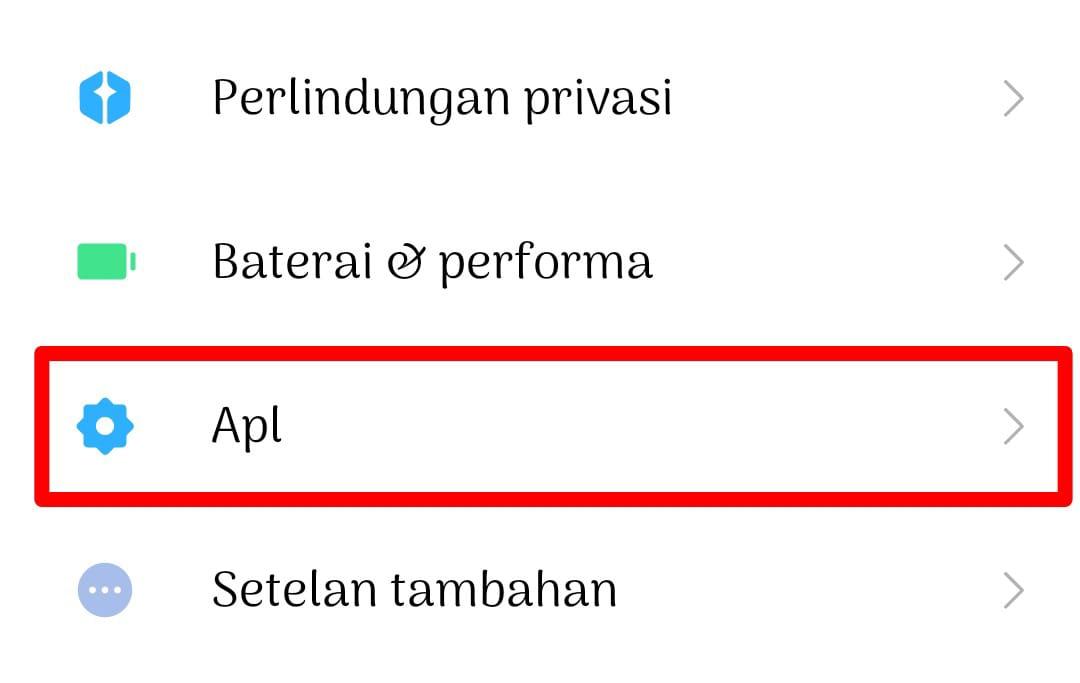 Memunculkan Aplikasi Tersembunyi di Xiaomi