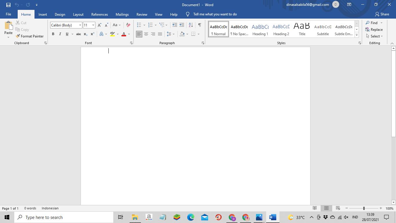 Cara Membuat Halaman pada Word untuk Skripsi