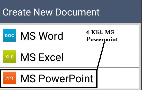 Cara Membuat Powerpoint Di Android